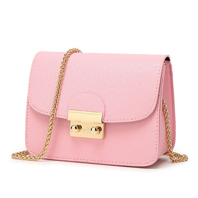 : mini bag with gold chain DON JUAN