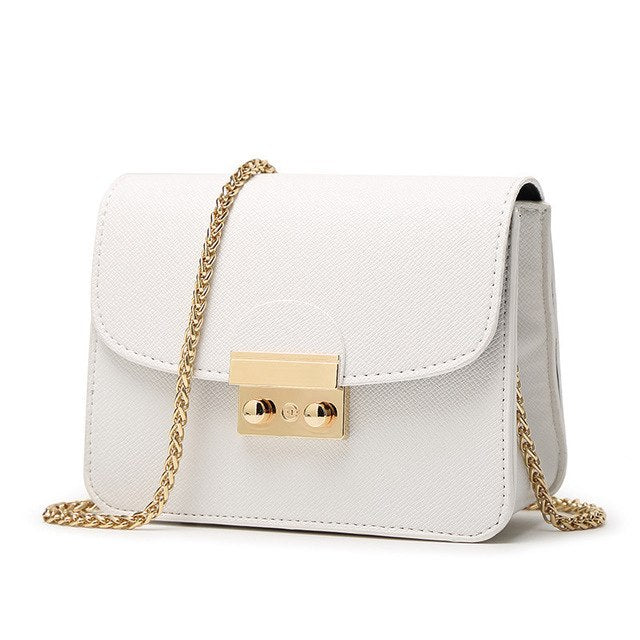 W Bags:mini bag with gold chain:VENERA CLUB