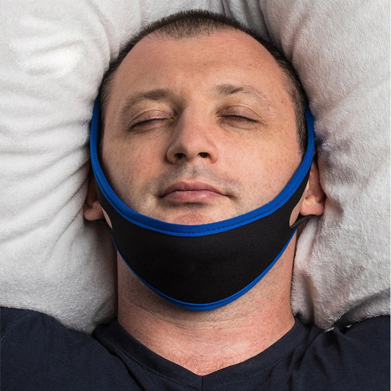 Sleep mask: anti-snoring chin strap DON JUAN