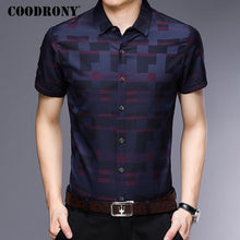 Load image into Gallery viewer, Short Sleeve Shirt Men Clothes 2018 Summer Mens Shirts
