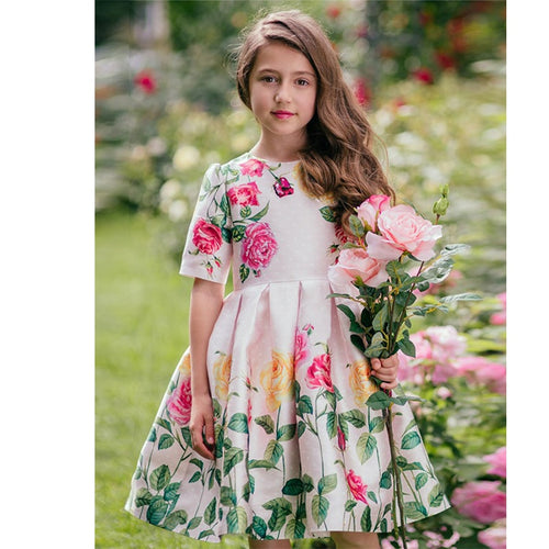 Baby Girl Clothes Vestidos Toddler Girl Dresses Robe Princesse Fille 2019