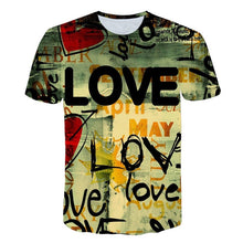 Load image into Gallery viewer, 2019 new Big yards New Fashion Brand T-shirt Men/Women Summer
