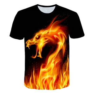 2019 new Big yards New Fashion Brand T-shirt Men/Women Summer