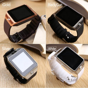 Smart Watch Smartwatch Android Phone Call  2G GSM SIM  iPhone Samsung Huawei