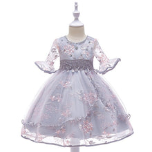 Load image into Gallery viewer, Retail Appliques Princess Girls Birthday Evening Party Gown Dress