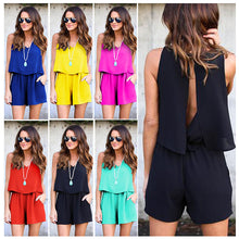 Load image into Gallery viewer, 2017 High quality Summer Womens Sexy Shorts Beach Chiffon
