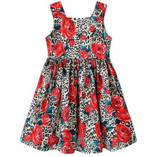 Load image into Gallery viewer, Girls Dress Christmas Clothes Baby Girl Elegant Dresses Children Vestidos Leopard Princess