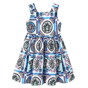 Girls Dress Christmas Clothes Baby Girl Elegant Dresses Children Vestidos Leopard Princess