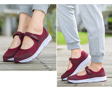 Load image into Gallery viewer, New Women Vulcanize Shoes Comfort Women Shoes Slip-on Women Loafers Casual Women Sneakers Mary Jane Tenis Feminino Plus Size 42
