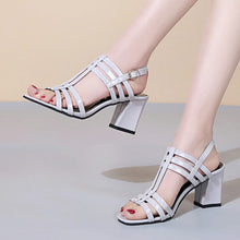Load image into Gallery viewer, 2019 Summer Casual Female Sandals Fashion Rome Wedges Shoes Woman