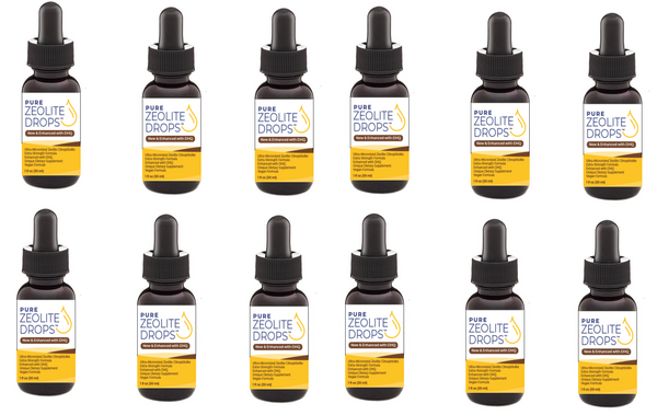 Zeolite Drops Enhanced with DHQ (Extra-Strength) (12 Bottles for $150) Only $12.50 ea ..... (FREE Shipping Worldwide)