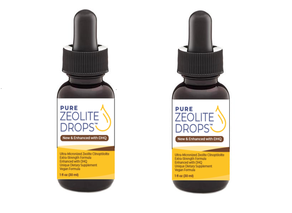 Zeolite Drops Enhanced with DHQ (Extra-Strength) (2 Bottles for $35) Only $17.50 ea. ..... (FREE Shipping Worldwide)
