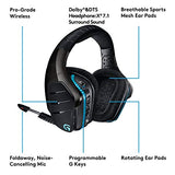 55813cd8ce3 Logitech G933 Artemis Spectrum – Wireless RGB 7.1 Dolby and DTS Headphone  Surround Sound Gaming Headset