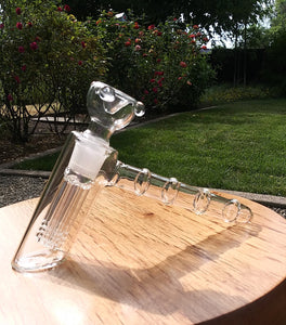 6 Arm Tree perc Hammer Bubbler - The Bong Czar Shop & Heady Czar Glass Gallery