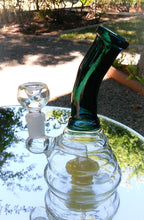 "Load image into Gallery viewer, 7"" Glass Behive with Bent Neck - The Bong Czar Shop & Heady Czar Glass Gallery"