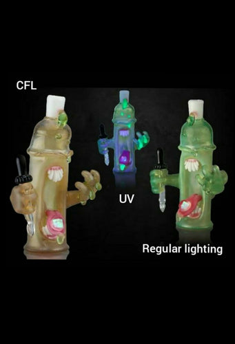 GlassHole Glass - CFL / UV Spray Can design -5.75