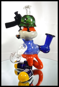 Cal Smith Glass - Conker Full size Rig - The Bong Czar Smokeshop & Heady Czar Glass Gallery