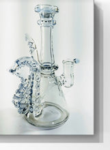 "Load image into Gallery viewer, CLICK HERE TO REQUEST AN EMAIL FOR WHEN A SIMILAR ONE IS BACK IN STOCK - Loki_Glass - Blue Dreamango - 4 Tencticle / UV 6.5"" - The Bong Czar Shop & Heady Czar Glass Gallery"