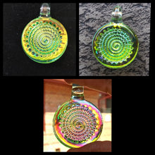 Load image into Gallery viewer, Cone 12 Flat - Vortex Light Bender Pendant - The Bong Czar Smokeshop & Heady Czar Glass Gallery