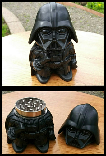 Darth Vader - 2 layer Metal Grinder - The Bong Czar