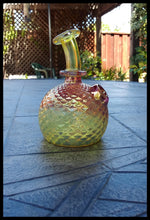 Load image into Gallery viewer, James Lang Glass - Fumed Gold and Silver Diamond Tech - The Bong Czar Smokeshop & Heady Czar Glass Gallery