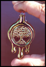 Load image into Gallery viewer, James Lang Glass - Honey Drip Tree Pendant - The Bong Czar Smokeshop & Heady Czar Glass Gallery