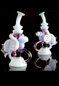 Justin C Glass - Double uptake CFL Recycler - The Bong Czar