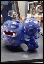Load image into Gallery viewer, Loki Glass - Weezing Dab Rig - The Bong Czar Smokeshop & Heady Czar Glass Gallery