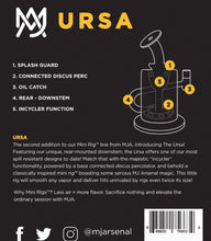 Load image into Gallery viewer, MJ Arsenal - Ursa Mini ™ - The Bong Czar Shop & Heady Czar Glass Gallery