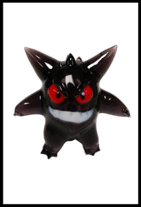 Mythic Glass - Black Gengar Pendy - The Bong Czar Smokeshop & Heady Czar Glass Gallery