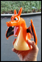 Load image into Gallery viewer, Mythic Glass - Charizard Dab Rig - The Bong Czar Smokeshop & Heady Czar Glass Gallery