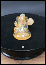 Load image into Gallery viewer, Oats Glass - Fumed Hammers with marbles and Horn - The Bong Czar
