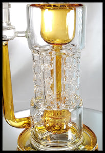On Point Glass - Swiss Uptake Incycler - The Bong Czar Smokeshop & Heady Czar Glass Gallery