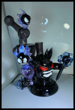 Load image into Gallery viewer, ShoeLess Glass - Gengar recycler PRE-ORDER PURCHASE SALE - The Bong Czar Smokeshop & Heady Czar Glass Gallery
