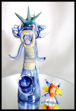 Load image into Gallery viewer, ShoeLess Glass - Gyarados Jammer and cap - The Bong Czar Smokeshop & Heady Czar Glass Gallery