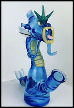 Load image into Gallery viewer, ShoeLess Glass - Gyarados Jammer Rig - NOW AVAILBLE FOR PRE-ORDER PURCHASE - The Bong Czar Smokeshop & Heady Czar Glass Gallery