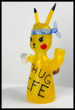 Load image into Gallery viewer, ShoeLess Glass - Pikachu Thug Life Rig - AVAILABLE FOR PRE-ORDER PURCHASE - The Bong Czar Smokeshop & Heady Czar Glass Gallery