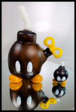 Load image into Gallery viewer, Tony Kazy Glass - Bob-omb Rig, Bubble Cap & Removeable Dabber - The Bong Czar Smokeshop & Heady Czar Glass Gallery
