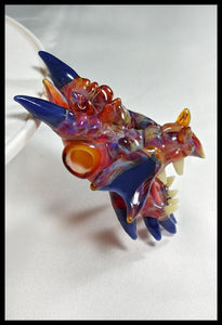 Tony Kazy Glass - Dragon Pendant - The Bong Czar Smokeshop & Heady Czar Glass Gallery
