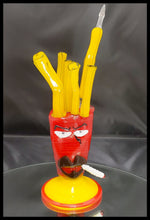 Load image into Gallery viewer, Weapons of Glass Destruction - Frylock with removable Dabber - The Bong Czar Smokeshop & Heady Czar Glass Gallery