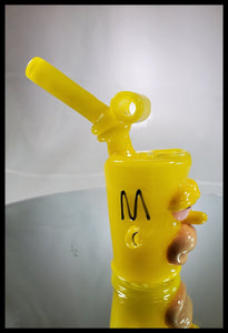 Weapons of Glass Destruction - Homer Cup Pendant Dab Rig - The Bong Czar Smokeshop & Heady Czar Glass Gallery