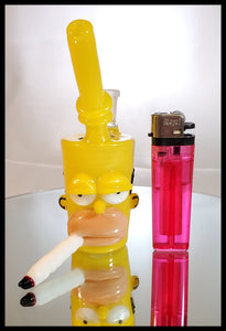 Weapons of Glass Destruction - Homer Mini Cup - The Bong Czar Smokeshop & Heady Czar Glass Gallery