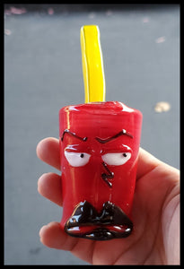 Weapons of Glass Destruction - Mini Frylock Rig - The Bong Czar Smokeshop & Heady Czar Glass Gallery