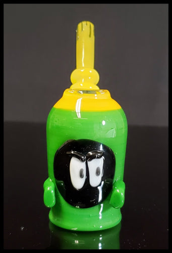 Weapons of Glass Destruction- Mini Marvin the Martian - The Bong Czar Smokeshop & Heady Czar Glass Gallery