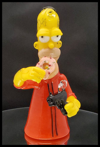 Weapons of Glass Destruction - Prison Homer rig - The Bong Czar Smokeshop & Heady Czar Glass Gallery