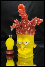 Load image into Gallery viewer, Weapons of Glass Destruction - Side Show Bob Cup Dab Rig and cap - The Bong Czar Smokeshop & Heady Czar Glass Gallery
