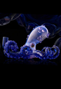 Zooted Glassworks - Blue Octopus Rig - The Bong Czar online Smokeshop