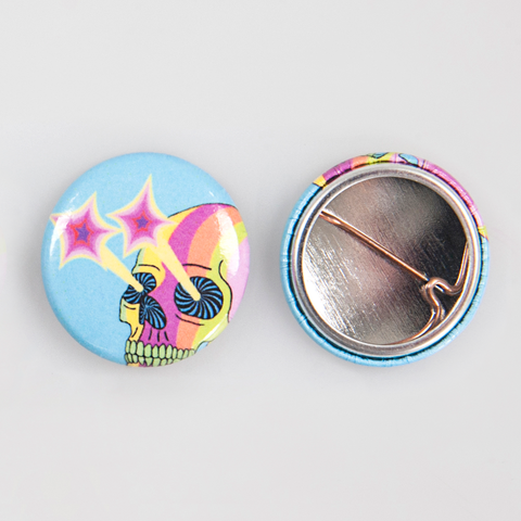 Pin - Spilletta #Ypsi19 [Candy Striped Skull]