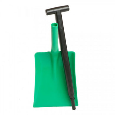 Two-Piece Plastic Shovel