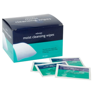 Alcohol-Free Cleansing Wipe (Box of 100)